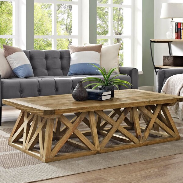 Barker Camp Coffee Table by Union Rustic