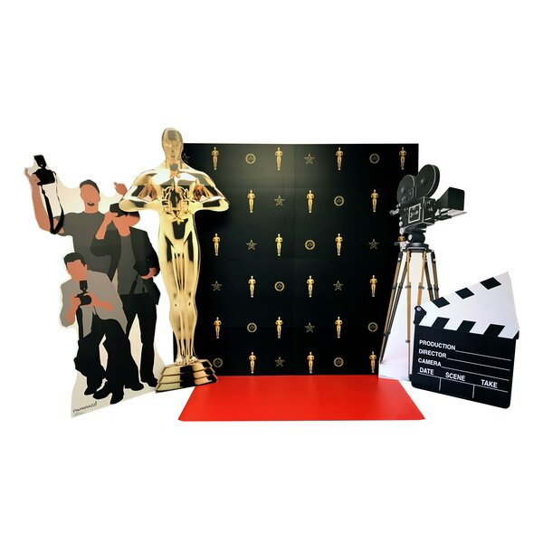 6 Piece Hollywood Red Carpet Set by Advanced Graphics