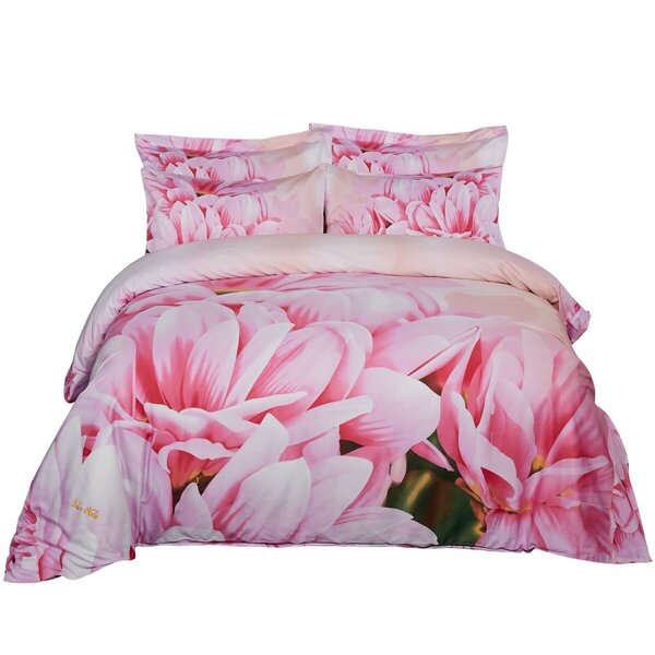 Wattson May Floral Bedding Reversible Duvet Cover Set