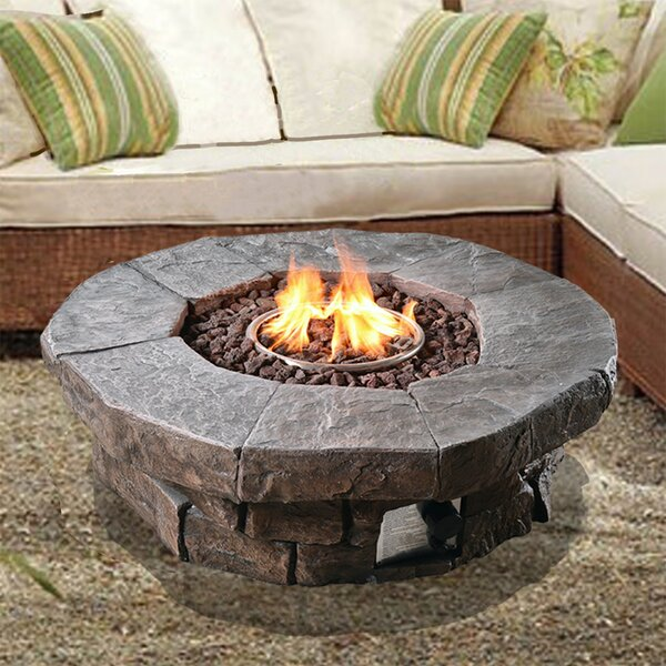 Outdoor Propane Gas Fire Pit by Peaktop