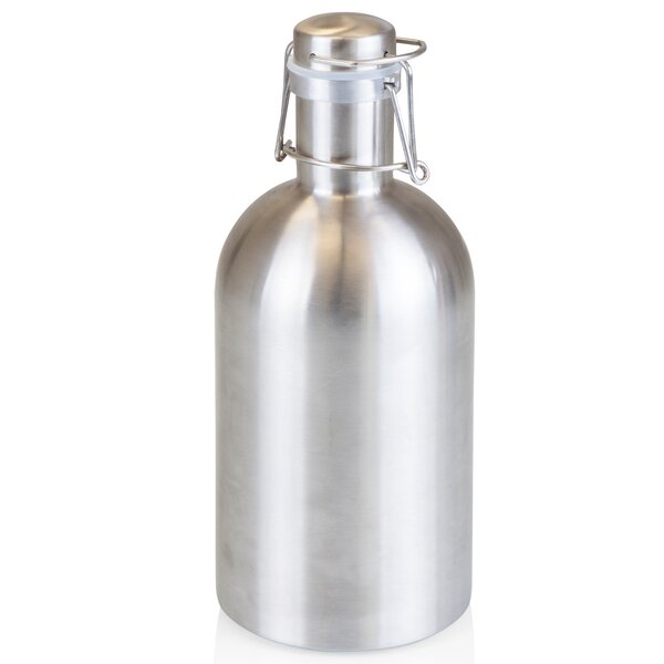 Stainless Steel 64 oz. Growler by LEGACY