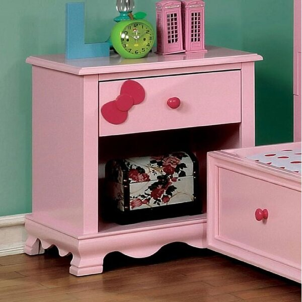 Weathers 1 Drawer Nightstand By Rosdorf Park