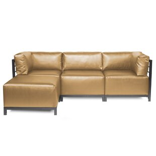 Woodsen Patio Sectional with Cushions By Latitude Run