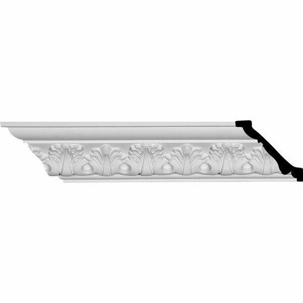 Palmetto 2 7/8H x 96W x 2 7/8D Crown Molding by Ekena Millwork
