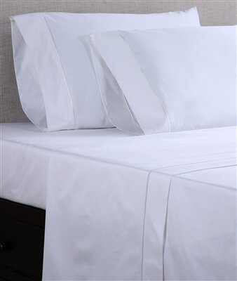 Hospitality Fitted Sheet (Set of 12) by Affluence Hospitality
