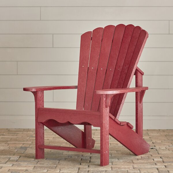 Sandiford Plastic Adirondack Chair by Beachcrest Home Beachcrest Home