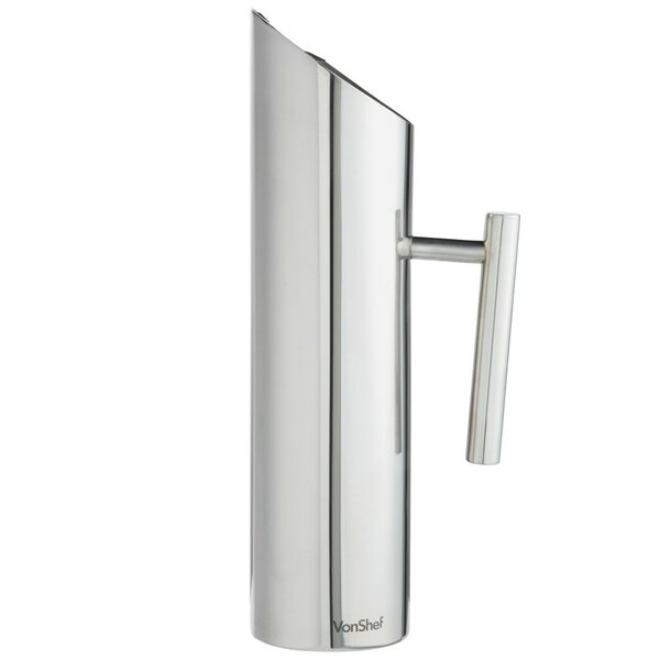 Stainless Steel 1.7L Water Pitcher by VonShef