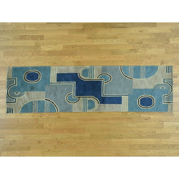 One-of-a-Kind Beverly Handwoven Wool Area Rug by Isabelline
