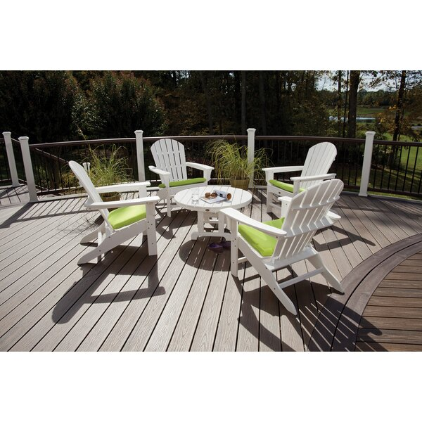 Trex Cape Cod Adirondack Sunbrella Seating Group with Cushions by Trex Outdoor