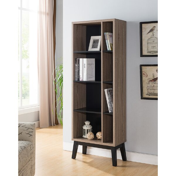 Quarles Modern Contemporary Design Display Standard Bookcase by George Oliver