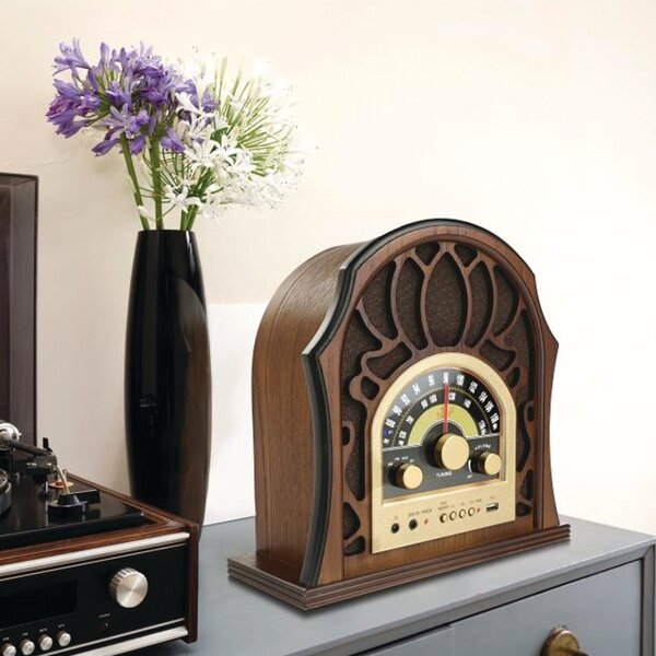 Vintage-Style Radio System by Pyle