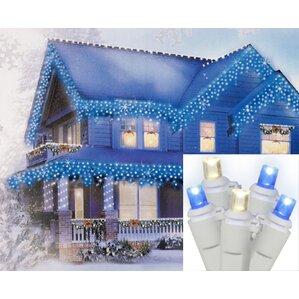 70 wide angle icicle christmas light set of 70 - Dripping Icicle Christmas Lights
