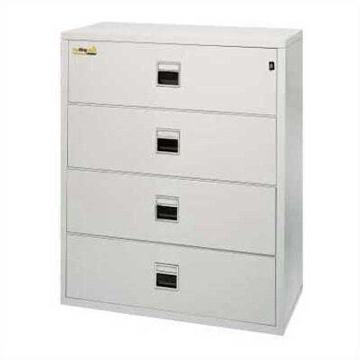 Fireproof 4-Drawer Vertical Filing Cabinet
