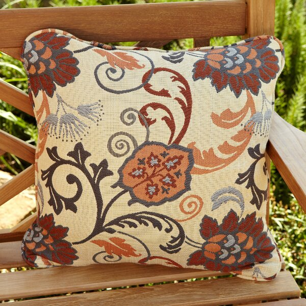 Bataan Outdoor Sunbrella Throw Pillow (Set of 2) by Darby Home Co