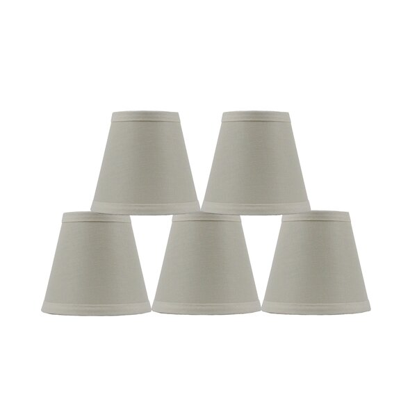 4.5 H Linen Empire Lamp Shade ( Clip On ) (Set of 5)