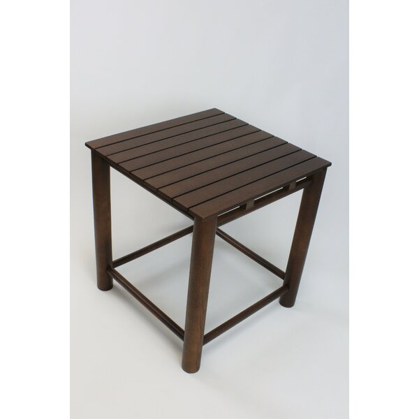Thor Wooden Side Table by Gracie Oaks