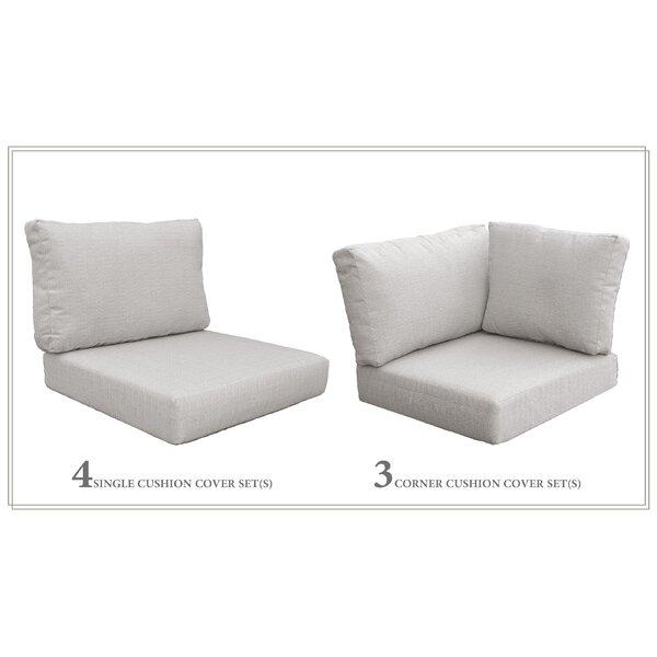 High Back Indoor/Outdoor Replacement Cushion Set by Red Barrel Studio Red Barrel Studio