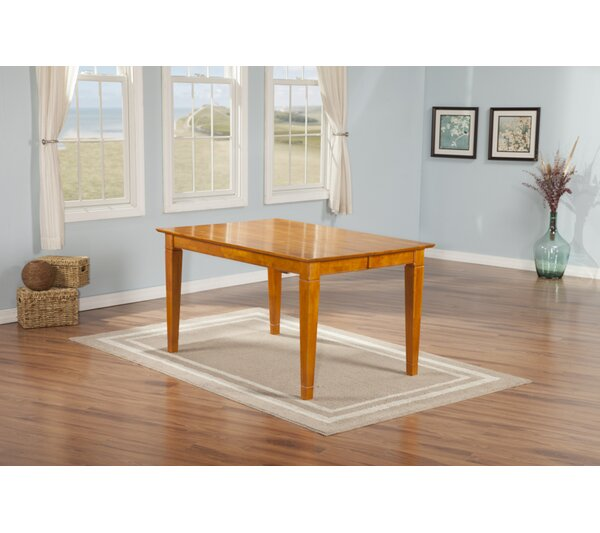 Tuers Solid Wood Dining Table by Darby Home Co