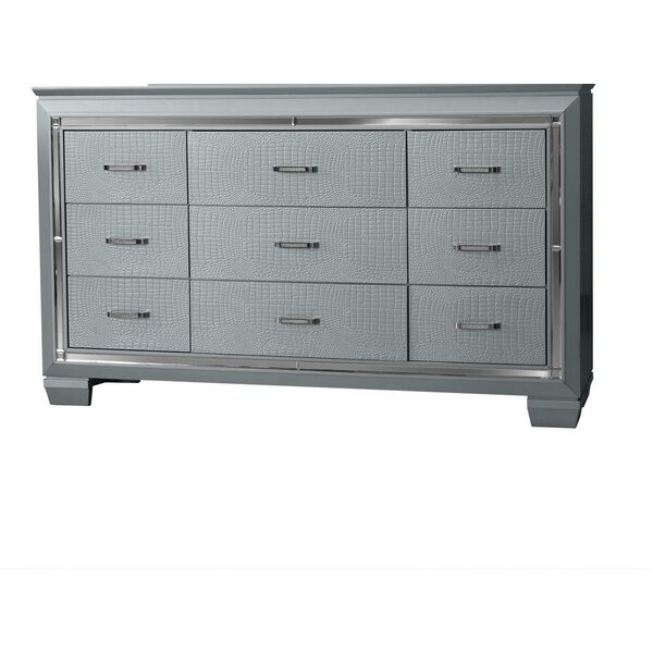 Reena 9 Drawer Dresser by Rosdorf Park