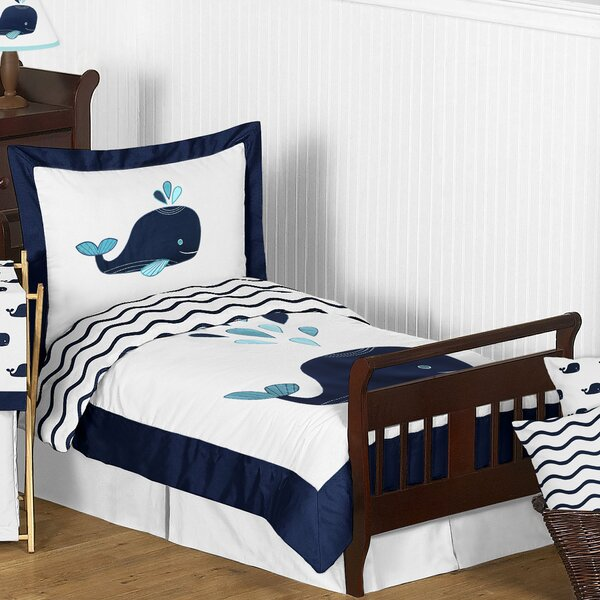 Whale 5 Piece Comforter Set by Sweet Jojo Designs