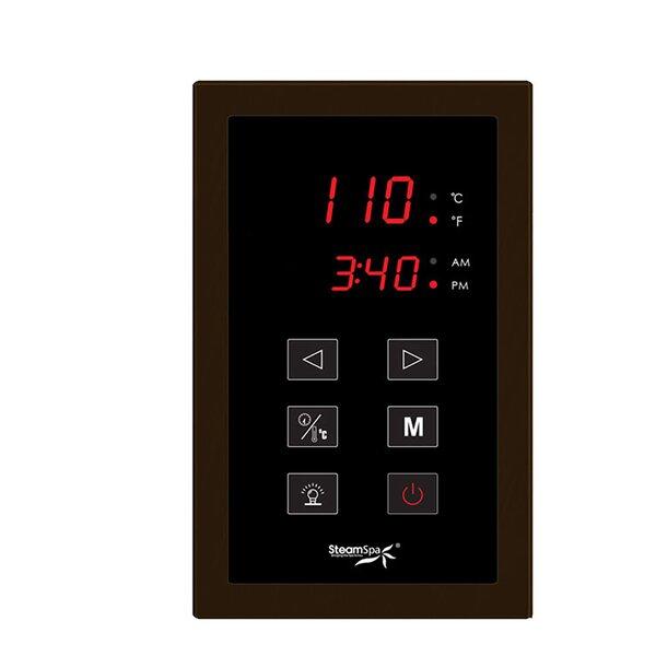 Indulgence 4.5 kW QuickStart Steam Bath Generator Package by Steam Spa