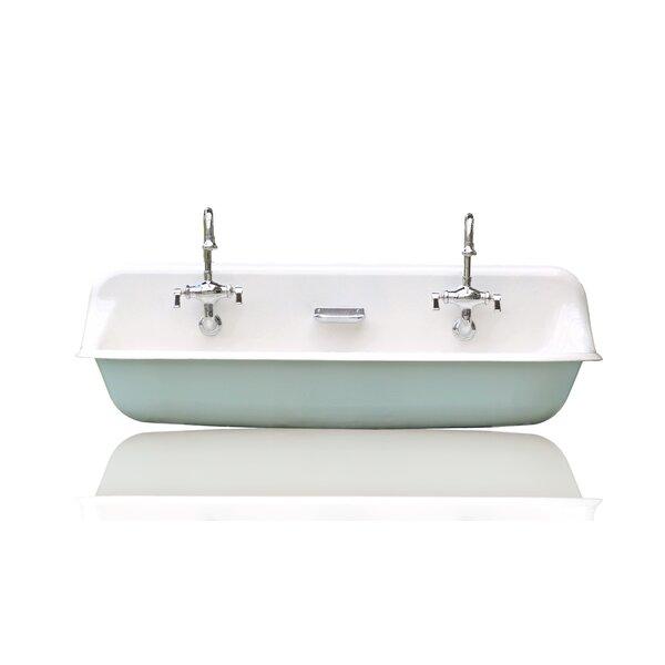 Brockway Farm Cast Iron Porcelain Trough Sink Package by Kohler