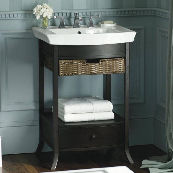Kohler Archer 24 Quot Pedestal Bathroom Sink Amp Reviews Wayfair
