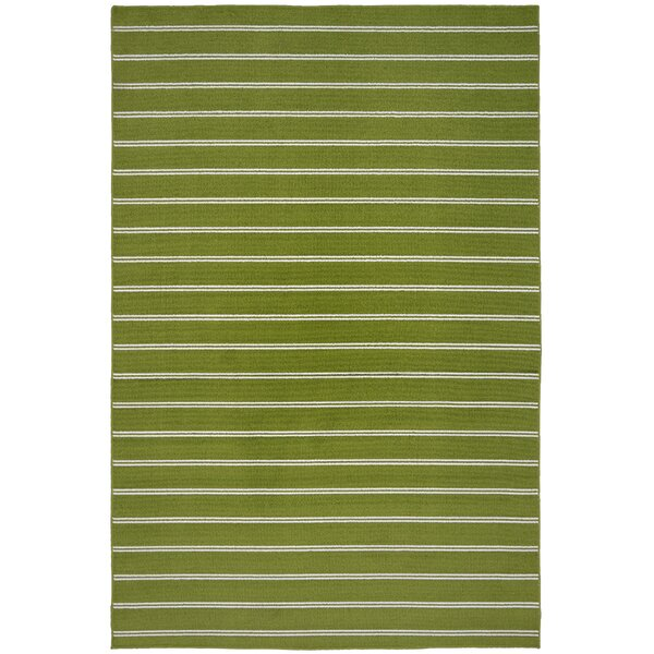 Dellbrook Grasshopper Green Area Rug by Bay Isle Home