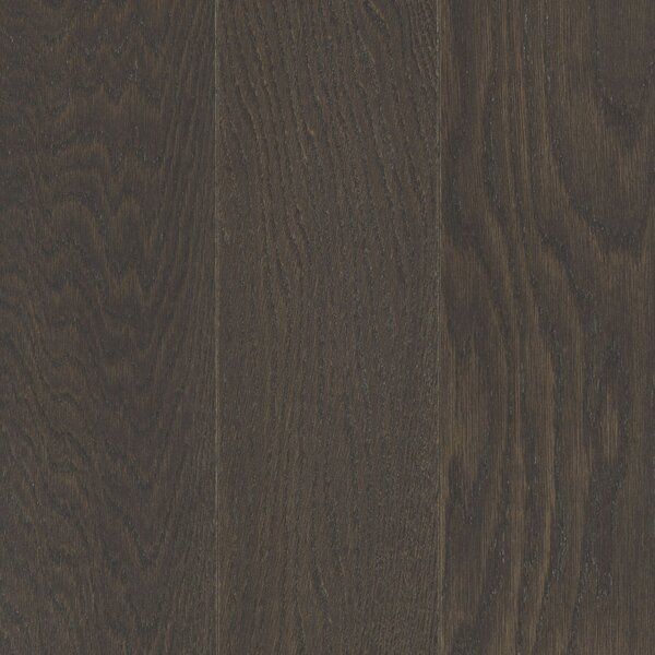 Alessandra Random Width Engineered Oak Hardwood Flooring in Gunmetal by Welles Hardwood