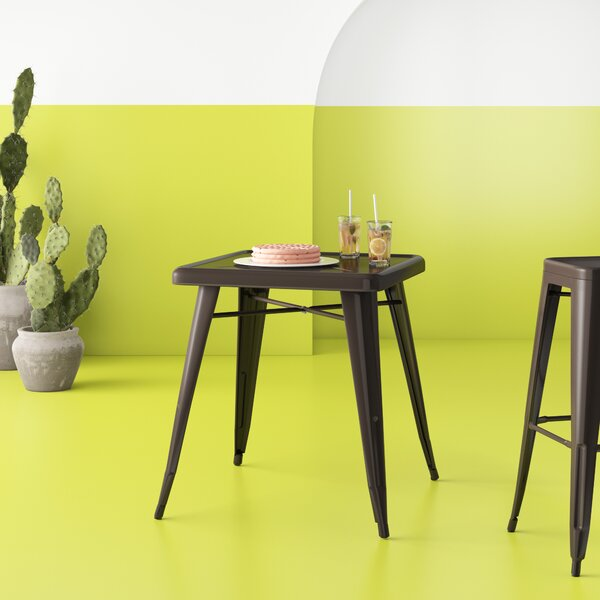 Dekker Metal Dining Table by Hashtag Home