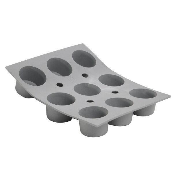 Elastomoule Silicone Mini-Muffins Mold by De Buyer