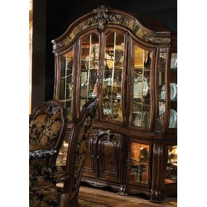 Oppulente Lighted China Cabinet by Michael Amini (AICO)