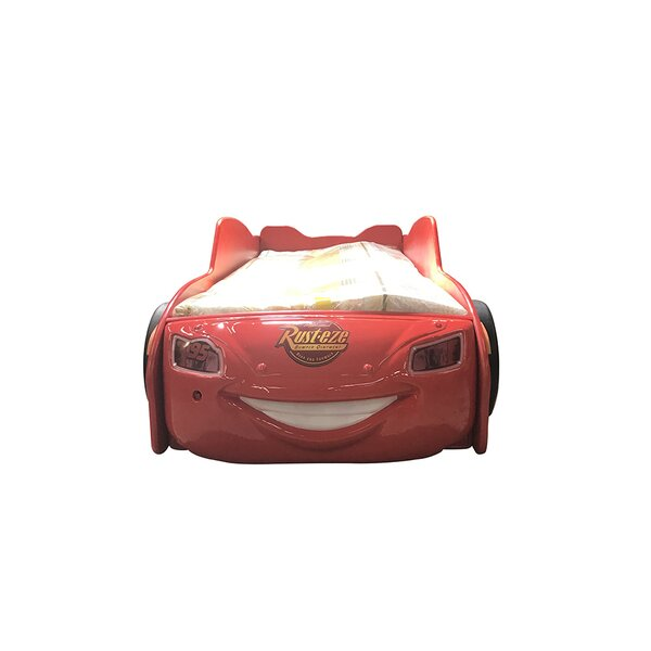 Lightning McQueen Racing Twin Car Bed with Mattress by MaximaHouse