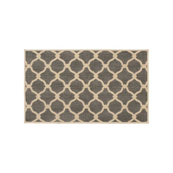Jaya Arietta Gray Indoor/Outdoor Area Rug by Laura Ashley