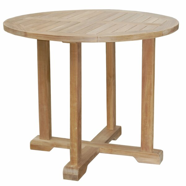 Montage Teak Bistro Table by Anderson Teak