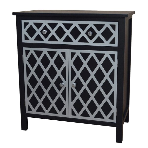 Trellis 2 Door Accent Cabinet by Gallerie Decor