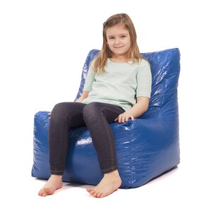 Wet Look Bean Bag Lounger by Gold Medal Bean..