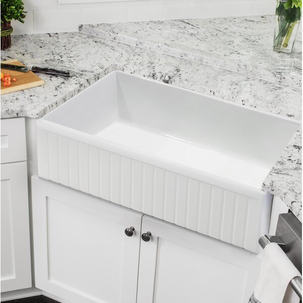30 x 18 Farmhouse Kitchen Sink by Soleil