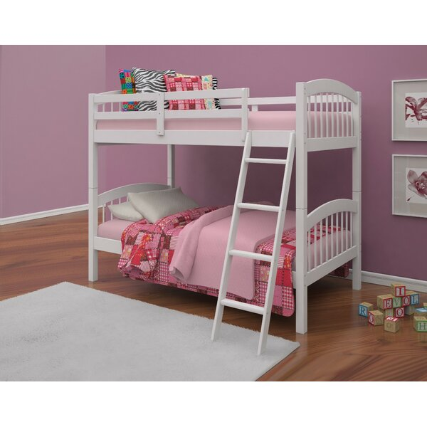 Gainseville Wooden Twin over Twin Bunk Bed by Harriet Bee