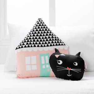 DreamIt Night Garden 2 Piece Throw Pillow Set
