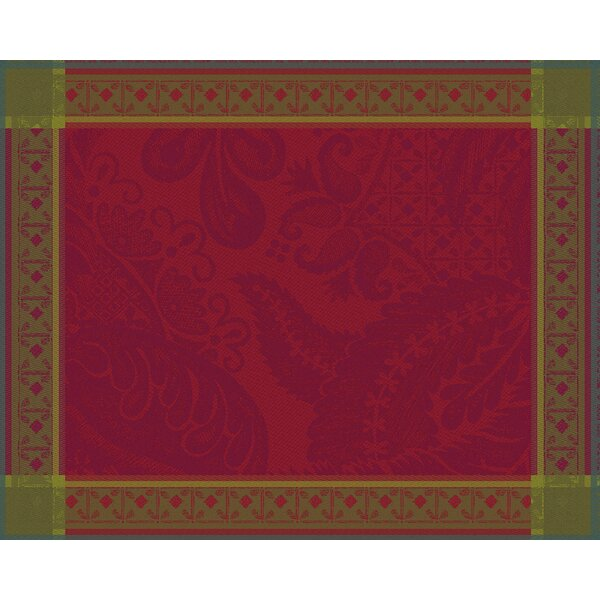 Isaphire Rubis Placemat (Set of 4) by Garnier-Thiebaut Inc