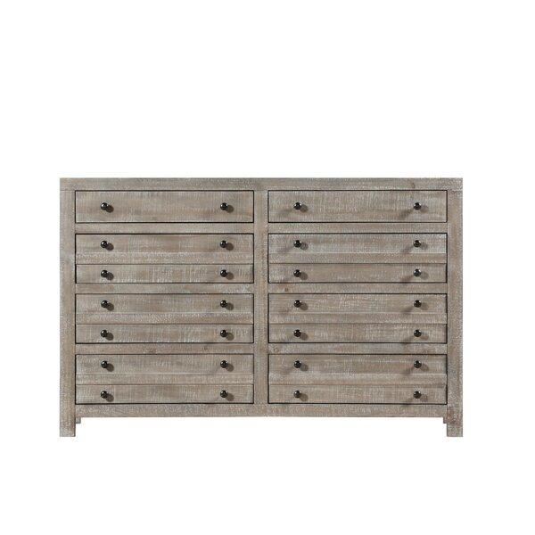 Thorson 8 Drawer Double Dresser by Gracie Oaks