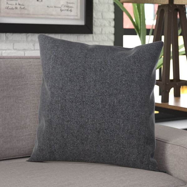 Halewood Tweed Design Throw Pillow by Williston Forge