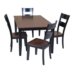 Aden 5 Piece Dining Set ByTTP Furnish