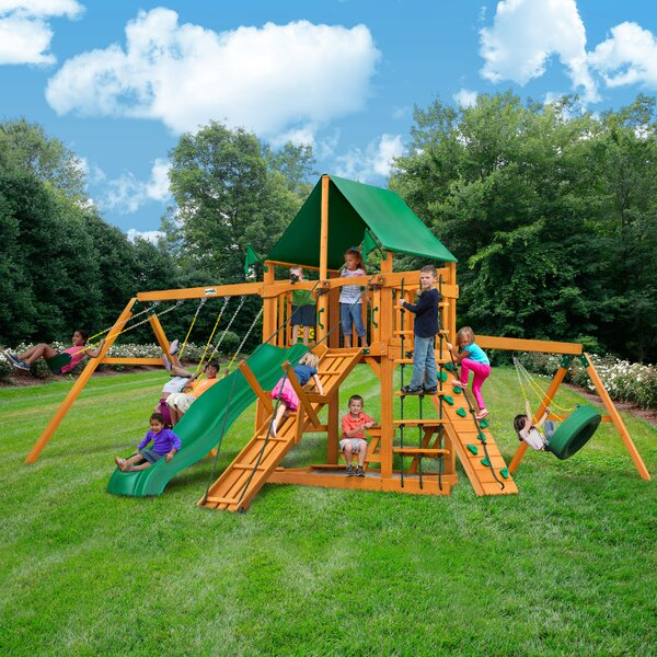 Frontier Swing Set by Gorilla Playsets