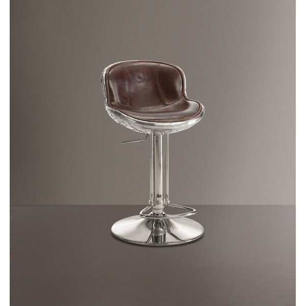 Mullinax Swivel Adjustable Height Stool by 17 Stories 17 Stories