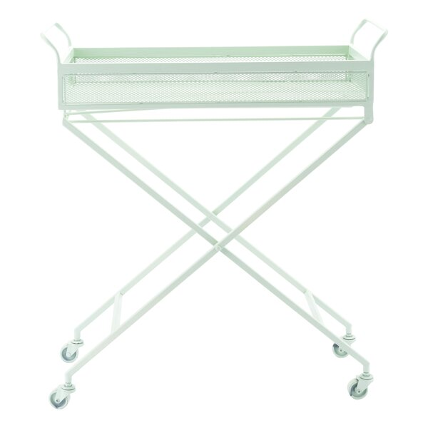 Sarver Mint Bar Cart by Latitude Run