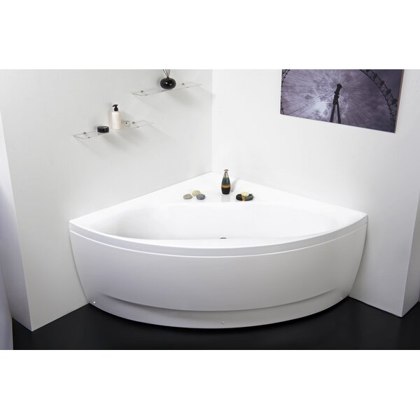 Olivia 55 x 55 Soaking Bathtub by Aquatica