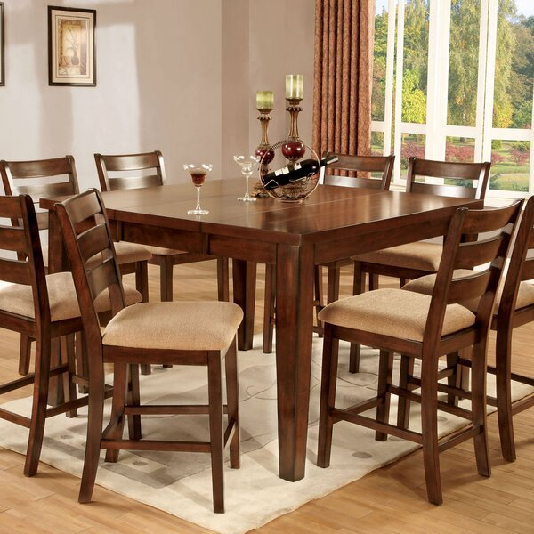 Pristine 7 Piece Counter Height Dining Set by Hokku Designs