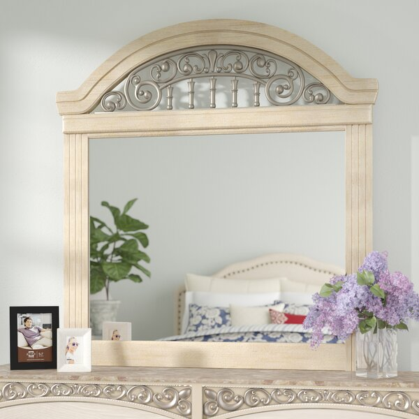 Johnby Arched Dresser Mirror by Astoria Grand